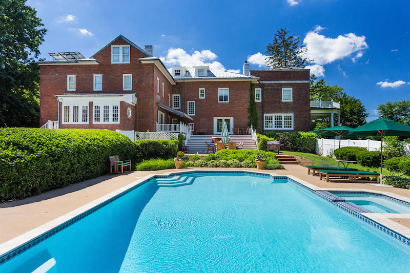 Grand chevy chase manor 5 200 000 pricey pads - Maison ecologique maryland chavy chase ...