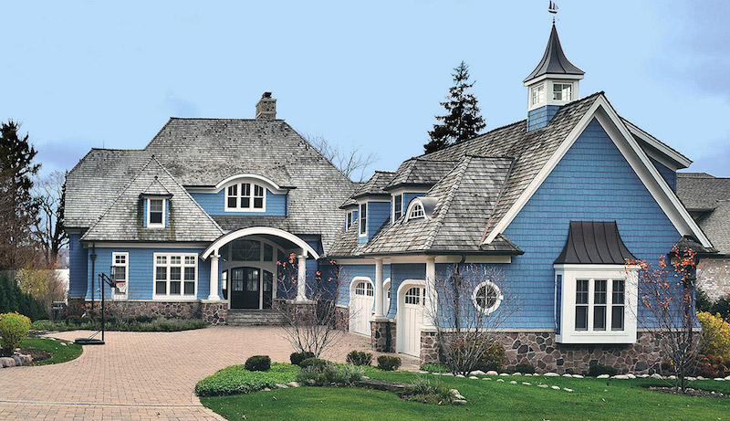 Lake geneva home sells for at absolute for Home builders in wisconsin