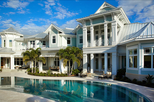 Coastal living at its finest photos pricey pads for Coastal living exterior paint colors