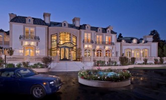 Beverly Hills Mansion Finally Completed, Asks $72-Million (PHOTOS)