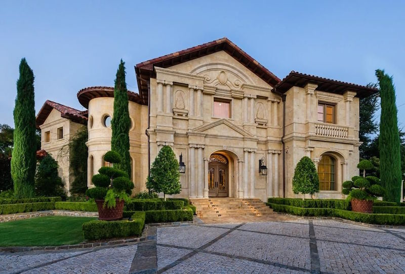 Everything's Bigger In Texas: Highland Park Estate Lists for $15.985-Million (PHOTOS)