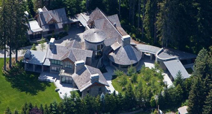5.24-Acre Mountain Estate Lists In Whistler, B.C. for $22-Million CAD (PHOTOS)