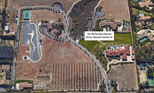 Extravagant Rancho Santa Fe Mansion Lists Next to Go-Cart Track (PHOTOS)