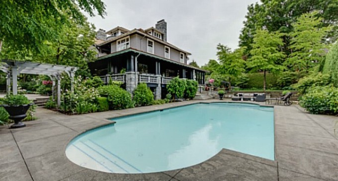 105-Year Old Shaughnessy Mansion Seeks $11.988-Million (PHOTOS)
