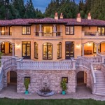 West Vancouver Villa Lists for $22.8-Million CAD (PHOTOS & VIDEO)