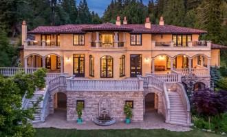 West Vancouver Villa Lists for $22.8-Million CAD (PHOTOS & VIDEO)