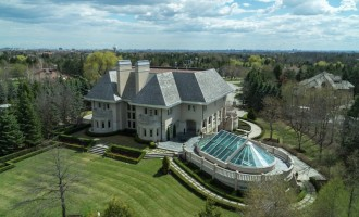 20,000 Sq. Ft. Ontario Manor Reduced to $6.98-Million (PHOTOS & VIDEO)