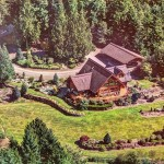 10-Acre Estate Complete with Log Residence Seeks $1.25-Million (PHOTOS)