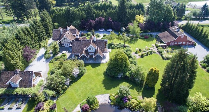 Deal Of The Week: Fairytale Estate in Pitt Meadows Reduced to $3.99M, Prev. $8M (PHOTOS & VIDEO)