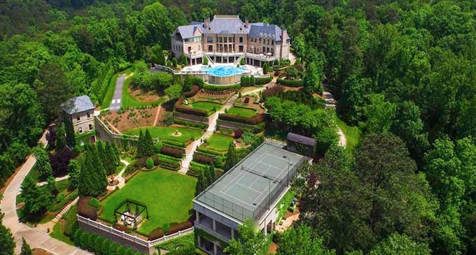 Tyler Perry's 17-Acre Atlanta Estate Yours for $25-Million (PHOTOS & VIDEO)