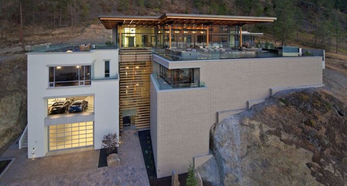 17,000 Sq. Ft. Award-Winning Contemporary Masterpiece in Kelowna, B.C. for $8.9M (PHOTOS & VIDEO)