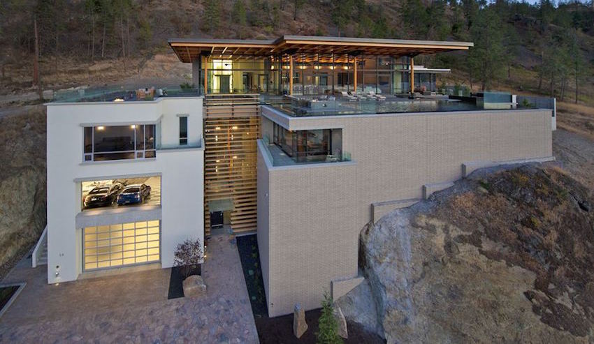 17,000 Sq. Ft. Award-Winning Contemporary Masterpiece in Kelowna, B.C. Reduced to $8.9M (PHOTOS & VIDEO)