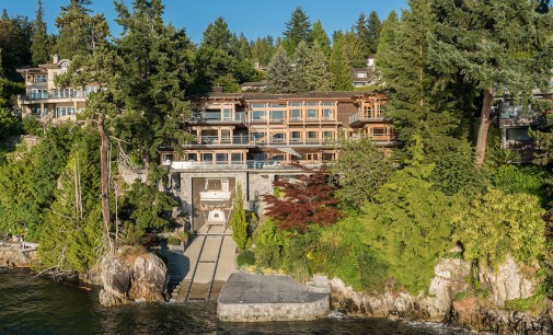 West Vancouver, B.C. Residence With Private Yacht Garage Lists For $23.8-Million (PHOTOS)