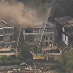 Multiple Oceanfront Homes in West Vancouver Go Up in Flames (PHOTOS & VIDEO)