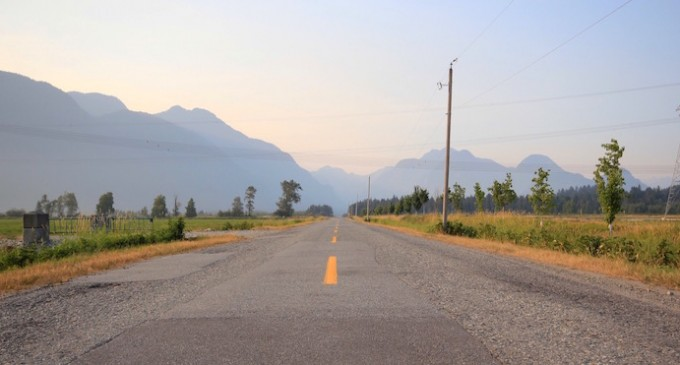 20 Photos Showing Pitt Meadows, B.C. Covered In Smoke (PHOTOS)