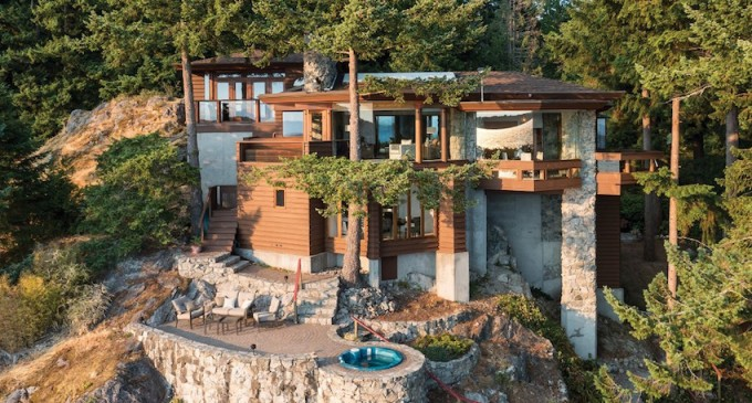 This Bowen Island Masterpiece Is Millions Cheaper Than A Teardown in Vancouver, B.C. (PHOTOS & VIDEO)