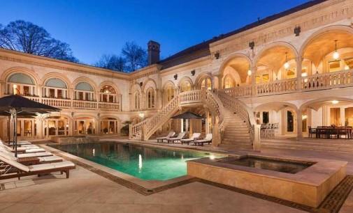 Atlanta, GA Mansion Just Can't Sell, Reduced Many Times (PHOTOS & VIDEO)