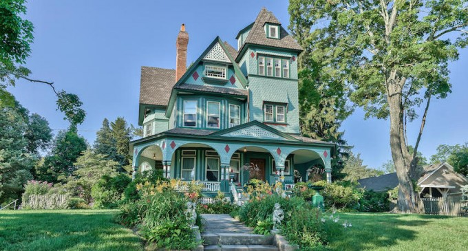 Restored c.1892 Queen Anne Victorian Once Priced At $849K Sells For $600K (PHOTOS)