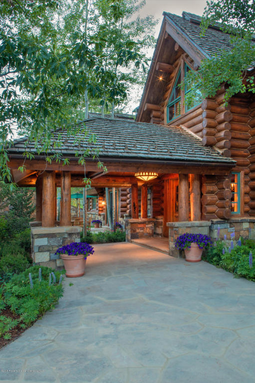 The Eagle Pines Log Home, Carrie Wells, July 1, 2015