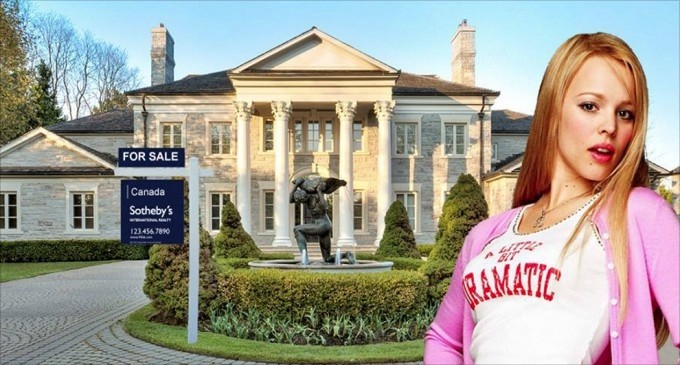 Regina George's Mansion from 'Mean Girls' Reduced to $12.8-Million (PHOTOS)