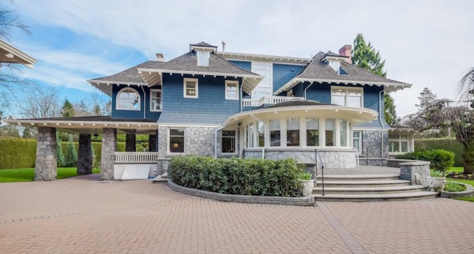 Shaughnessy's c.1912 'Rocklands' Mansion Yours For $12.38M (PHOTOS)