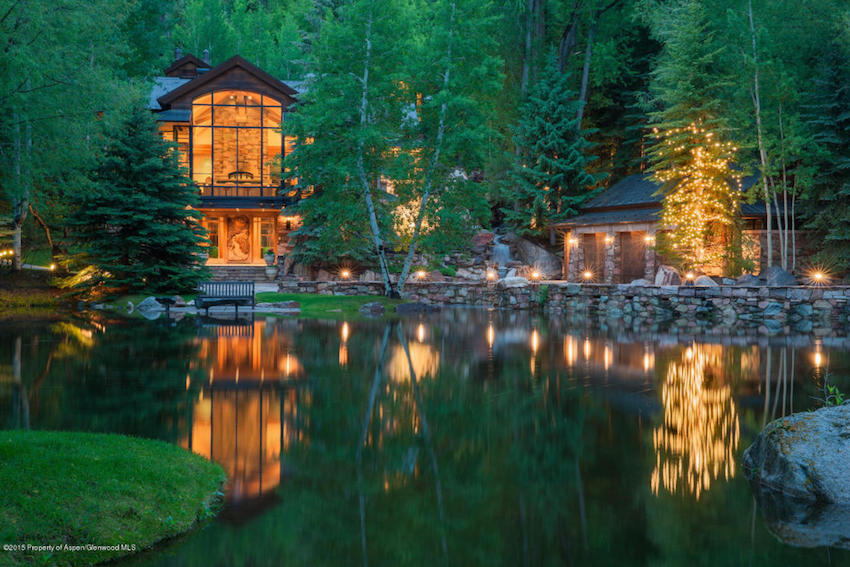 Incredible The Pond House A 39 75 Million Masterpiece In Aspen Co Download Free Architecture Designs Ferenbritishbridgeorg