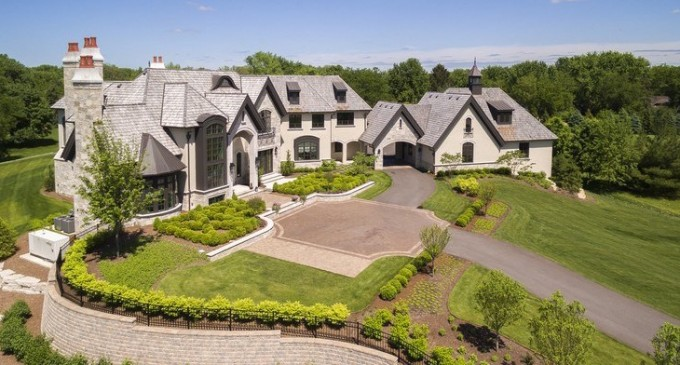 Elegant 21,000 Sq. Ft. Chicago-Area Residence Reduced to $7.1-Million (NEW PHOTOS & VIDEO)