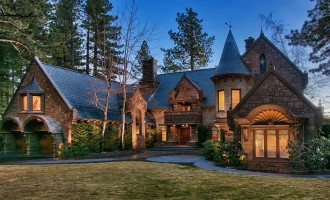 Nevada's 'Castle On Lake Tahoe' Can Be Yours For $26-Million (PHOTOS)