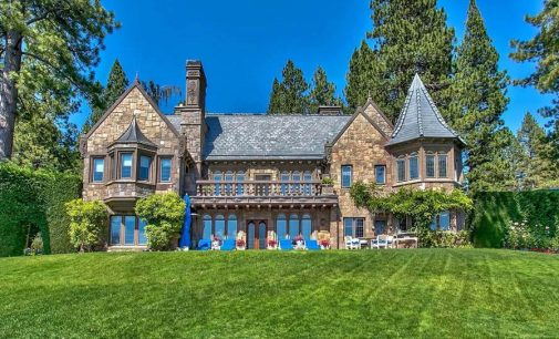 Nevada's 'Castle On Lake Tahoe' Reduced to $23.9-Million (PHOTOS)
