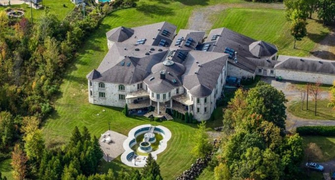 Canada's Strangest 35,000 Sq. Ft. Residence Seeks $11.888-Million (PHOTOS)