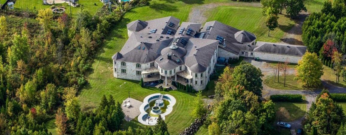 Canada's Strangest 35,000 Sq. Ft. Residence Seeks $11.888-Million (PHOTOS)