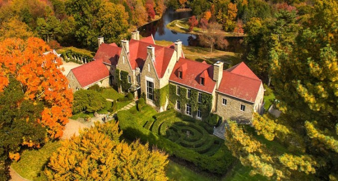 Hillandale, 262-Acre Historic Estate Lists for $75-Million (PHOTOS)