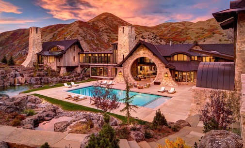 """Incomparable 22,000 Sq. Ft. Utah """"Hobbit House"""" On 29.5-Acres Reduced To $14.9-Million (PHOTOS)"""