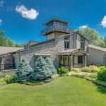 5.4-Acre Indiana Estate with Collector Car Garage & Train Room Reduced to $899K (PHOTOS)