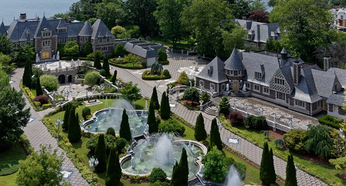 c.1928 60,000 Sq. Ft. Kings Point Manor Yours For $85-Million (PHOTOS & VIDEO)