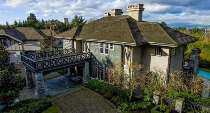 12,000 Sq. Ft. First Shaughnessy Home Lists For $28.8-Million CAD (PHOTOS)