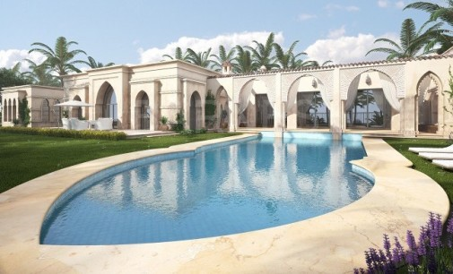 21,500 Sq. Ft. Villa Currently Under Construction in Caesarea, Israel (PHOTOS)