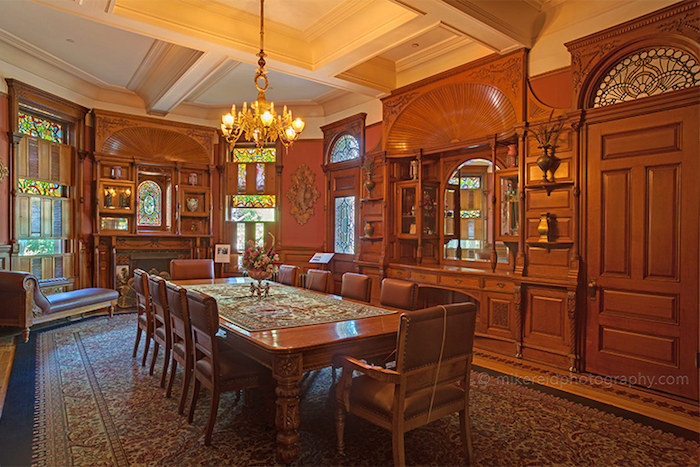 Craigdarroch Castle Dining Room