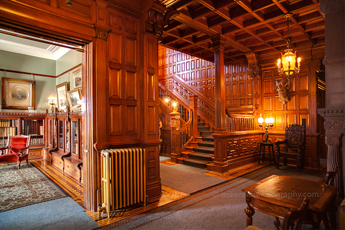 Craigdarroch Castle Main Foyer