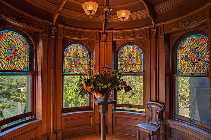 Craigdarroch Castle Stained Glass Room