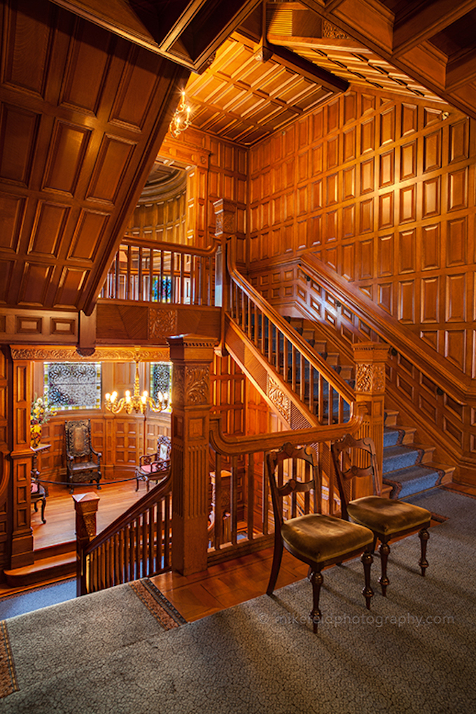 Craigdarroch Castle Stairwell Levels
