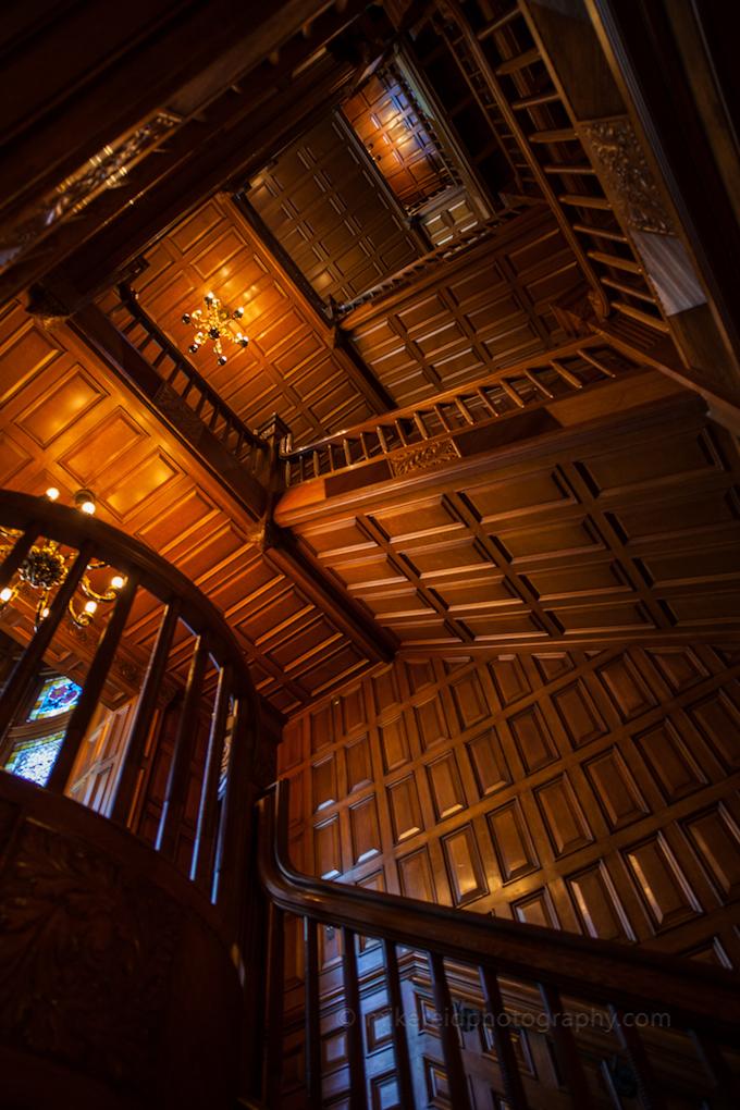 Craigdarroch Castle Stairwell Maze
