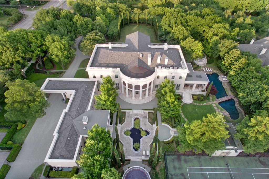 16 000 Sq Ft Dallas White House Yours For 10 9m Prev