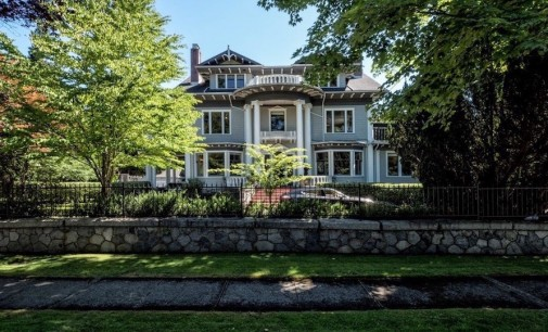 c.1912 First Shaughnessy Heritage B Mansion Re-Lists For $19.8-Million (PHOTOS)