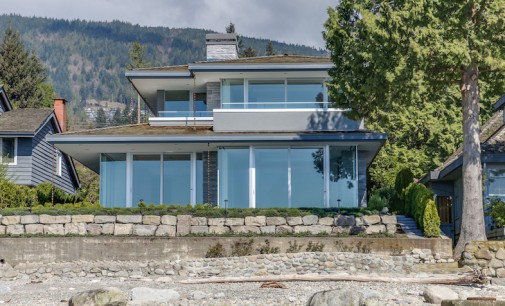 Brand New West Vancouver Beach House Lists For $16.388-Million (PHOTOS & VIDEO)