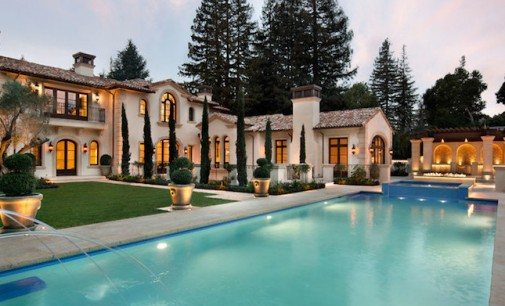 Newly Completed Italian Villa in Atherton, CA Asks $42.8-Million (PHOTOS & VIDEO)
