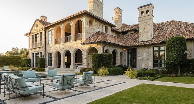 16,000 Sq. Ft. Preston Hollow Masterpiece Reduced to $10.5-Million (PHOTOS)