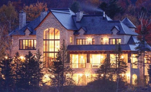 9,700 Sq. Ft. Stone Manor Lists in Mont-Tremblant, Québec For $12.9-Million (PHOTOS)