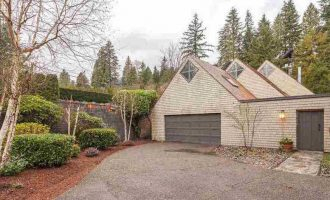 Architecturally Unique West Vancouver, BC Home Yours for $3.99-Million (PHOTOS)