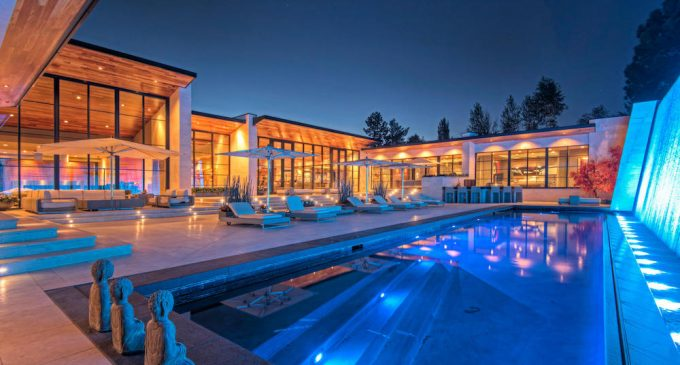 2.79-Acre Holladay, UT Estate Includes Recording Studio & Bowling Lanes for $7.4-Million (PHOTOS)